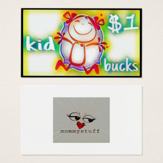 Kid Bucks Business Card