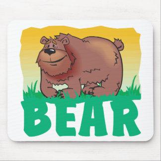 Kid Friendly Bear Mousepads