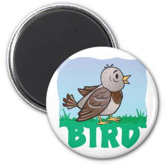 Kid Friendly Bird Fridge Magnets