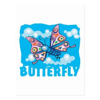 Kid Friendly Butterfly Postcard