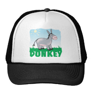 Kid Friendly Donkey Cap