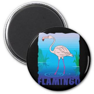 Kid Friendly Flamingo Magnets