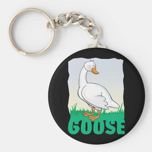 Kid Friendly Goose Key Chain