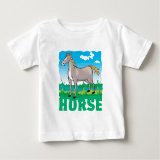 Kid Friendly Horse Infant T-Shirt