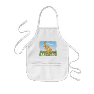 Kid Friendly Kangaroo Kids Apron