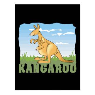 Kid Friendly Kangaroo Postcard