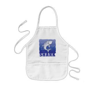 Kid Friendly Shark Kids Apron