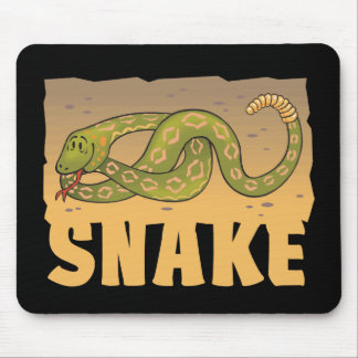 Kid Friendly Snake Mouse Pad