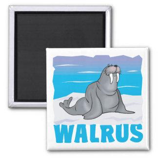 Kid Friendly Walrus Magnet