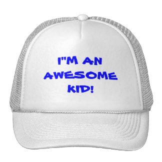 kid mesh hats
