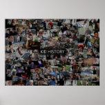 Kid History Collage Print