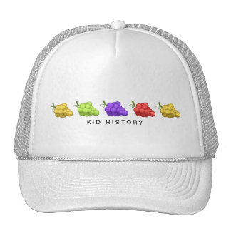 Kid History Grapes Cap
