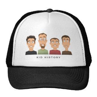 Kid History Mesh Hats