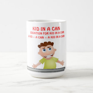 Kid In A Can Mug (Commercial As Seen On ''CSI (Bio