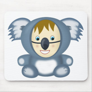 Kid in a Koala Suit Mouse Pad