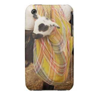 Kid in a saddlebag iPhone 3 Case-Mate case