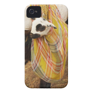 Kid in a saddlebag iPhone 4 Case-Mate case