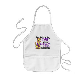 Kid In The Fight Against Alzheimer's Disease Kids Apron