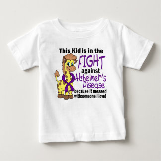 Kid In The Fight Against Alzheimer's Disease T-shirts