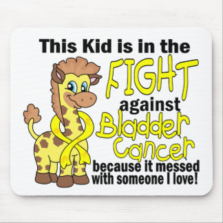 Kid In The Fight Against Bladder Cancer Mouse Pads