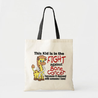 Kid In The Fight Against Bone Cancer Canvas Bag