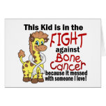 Kid In The Fight Against Bone Cancer Card