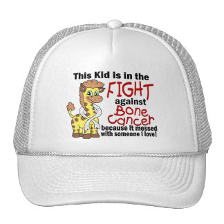 Kid In The Fight Against Bone Cancer Hat