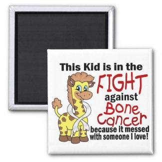 Kid In The Fight Against Bone Cancer Magnets