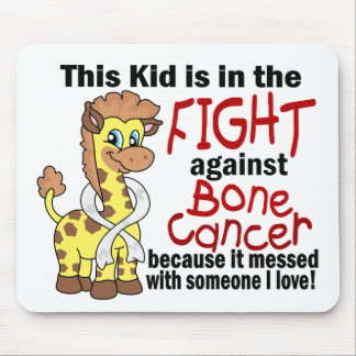 Kid In The Fight Against Bone Cancer Mouse Pads