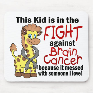Kid In The Fight Against Brain Cancer Mouse Pad