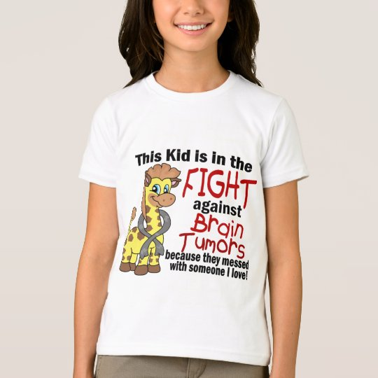 Kid In The Fight Against Brain Tumours T-Shirt