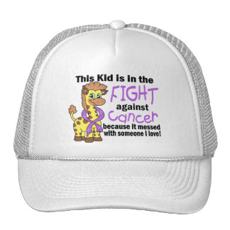 Kid In The Fight Against Cancer Cap