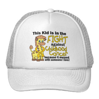 Kid In The Fight Against Childhood Cancer Cap