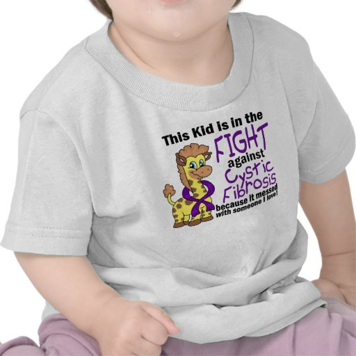 Kid In The Fight Against Cystic Fibrosis T-shirt