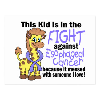 Kid In The Fight Against Esophageal Cancer Post Card