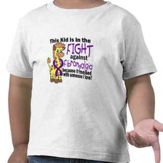 Kid In The Fight Against Fibromyalgia Shirt