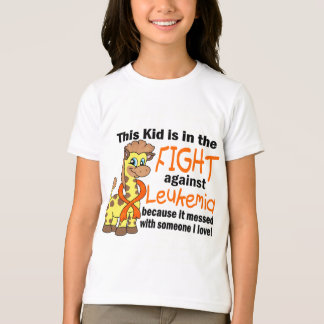 Kid In The Fight Against Leukemia T-shirt