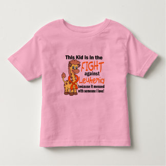 Kid In The Fight Against Leukemia Tshirts