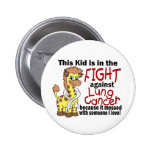 Kid In The Fight Against Lung Cancer Pin