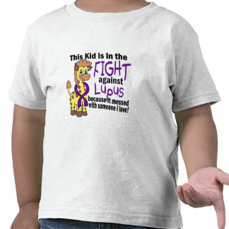 Kid In The Fight Against Lupus Tshirts