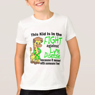 Kid In The Fight Against Lyme Disease T-shirts