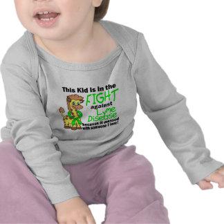 Kid In The Fight Against Lyme Disease Tee Shirt