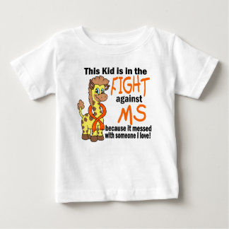 Kid In The Fight Against MS Multiple Sclerosis Baby T-Shirt