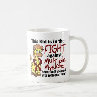 Kid In The Fight Against Multiple Myeloma Basic White Mug