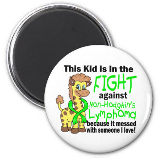 Kid In The Fight Against Non-Hodgkin s Lymphoma Magnets