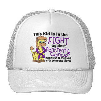 Kid In The Fight Against Pancreatic Cancer Mesh Hat