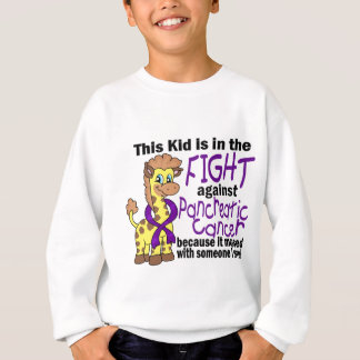 Kid In The Fight Against Pancreatic Cancer Sweatshirt