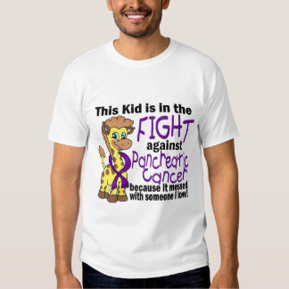 Kid In The Fight Against Pancreatic Cancer T Shirt
