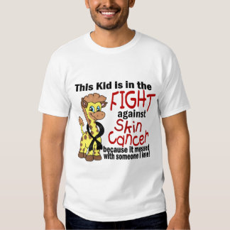 Kid In The Fight Against Skin Cancer Tee Shirts