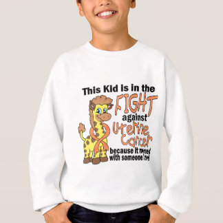 Kid In The Fight Against Uterine Cancer Tshirts
